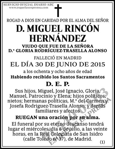 Miguel Rincón Hernández